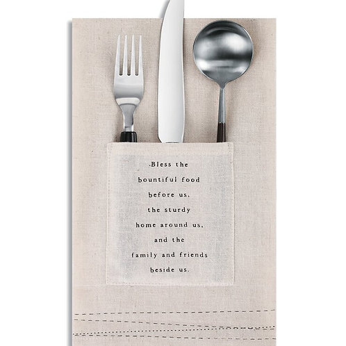 Blessings Utensil Pocket Napkin