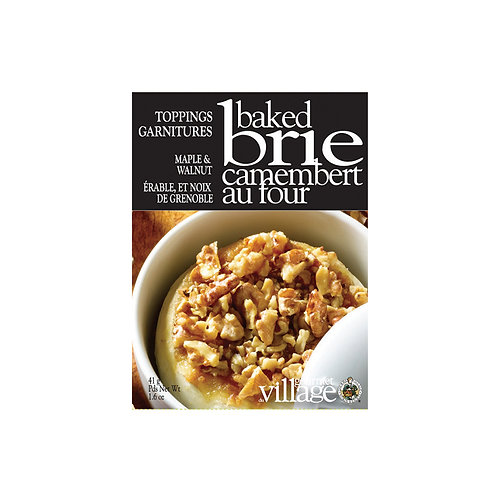 Maple Walnut Baked Brie Topping