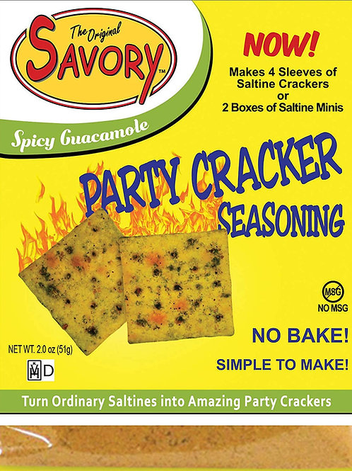The Original Savory Party Cracker - Spicy Guacamole