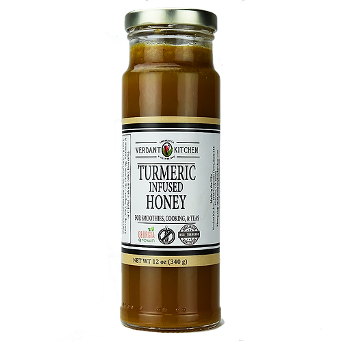 Tumeric Infused Honey
