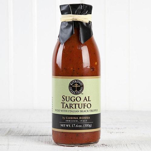 Sugo Al Tartufo Sauce--with Italian Black Truffle