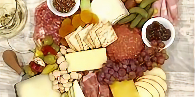The Art of Cheese & Charcuterie Board