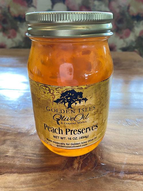 Golden Isles Olive Oil Peach Preserves