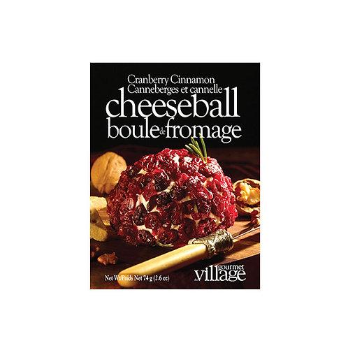 Cranberry Cinnamon Cheeseball Seasoning