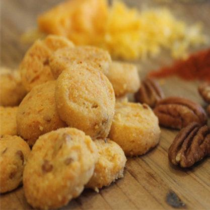 Byrd's Cheddar Pecan Biscuits