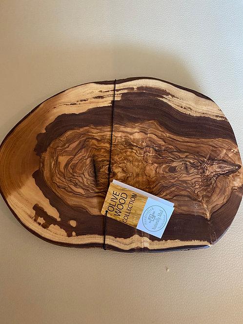 Olive Wood Decorative Trivet