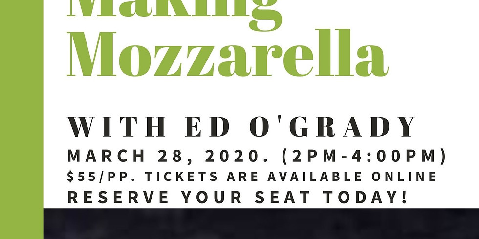 Making Mozzarella with Chef Ed O'Grady