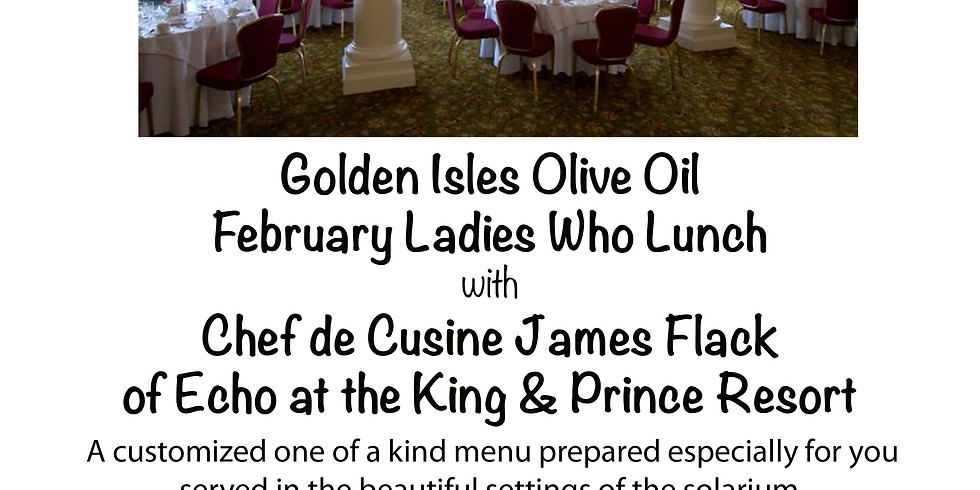 February Ladies Who Lunch