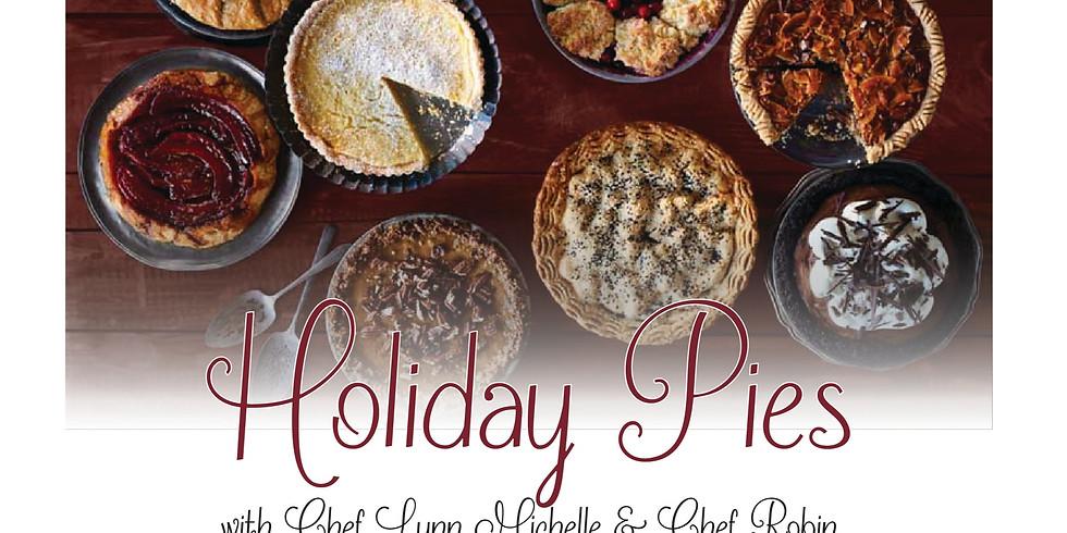 Holiday Pies w/Chef Lynn Michelle