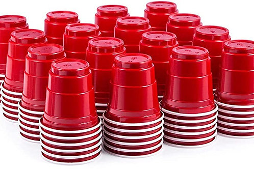 Mini Red Shot Glasses