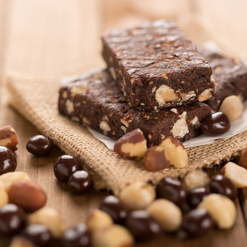 Monks' Chocolate Espresso Fruit and Nut Bar