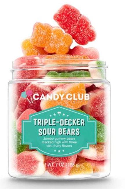 Candy Club Triple Decker Sour Bears