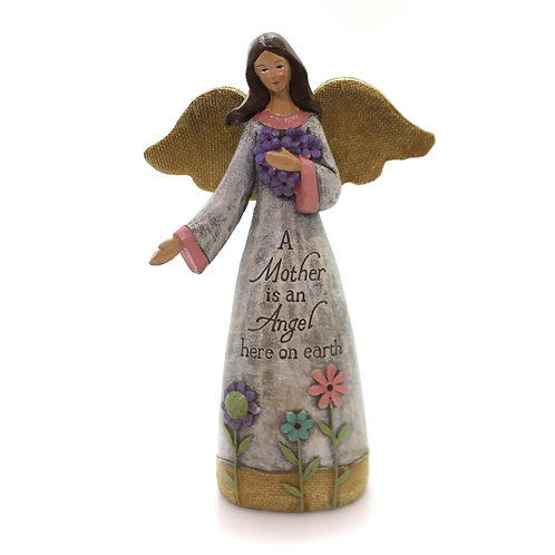 A Mother is an Angel here on earth Figurine