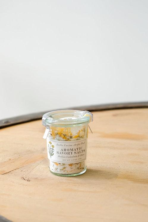 Italian Calendula & Chive Savory Salts
