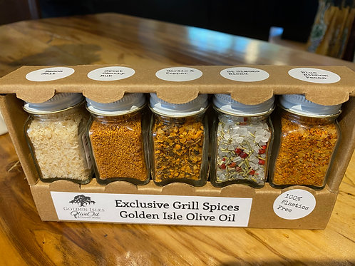 Golden Isles Olive Oil Grill Spices