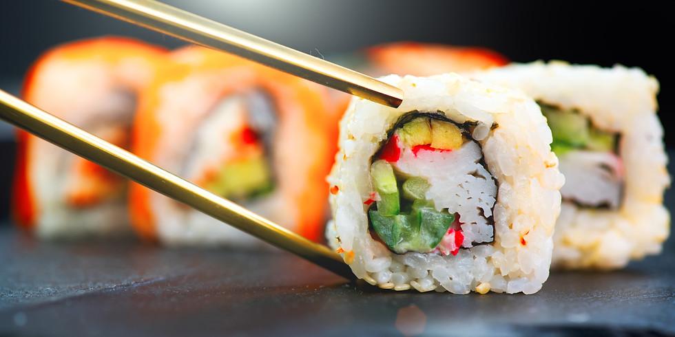 Friday Night Supper Club Roll Your Own Sushi w/ Chef Bill Chow