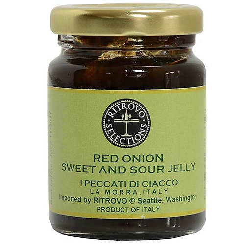 Red Onion Sweet & Sour Jelly