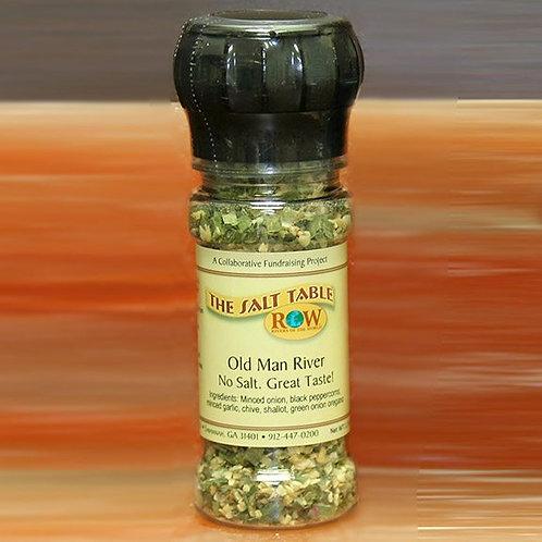 """The Salt Table Old Man River Grinder Spice Blend """"No Salt"""""""