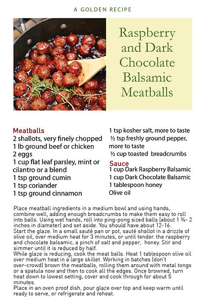 Dark Choc Raspberry Balsamic Meatballs.j