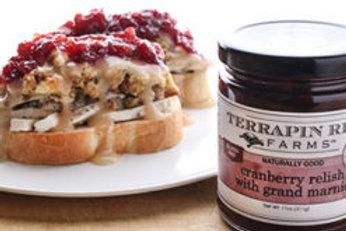 Cranberry Grand Marnier Relish