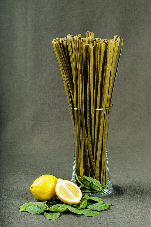 Papparedelle's Spinach Lemon Herb Fettuccine