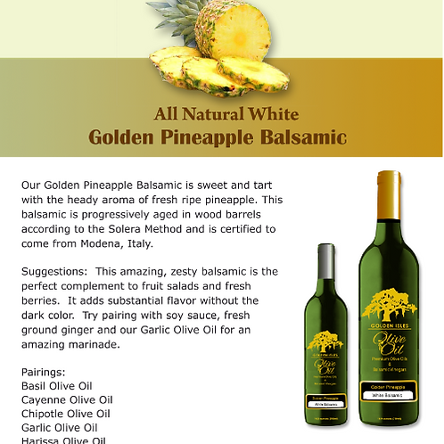 Golden Pineapple Balsamic