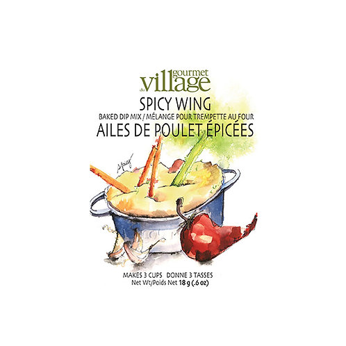 Gourmet du Village Spicy Wing Baked Dip Mix