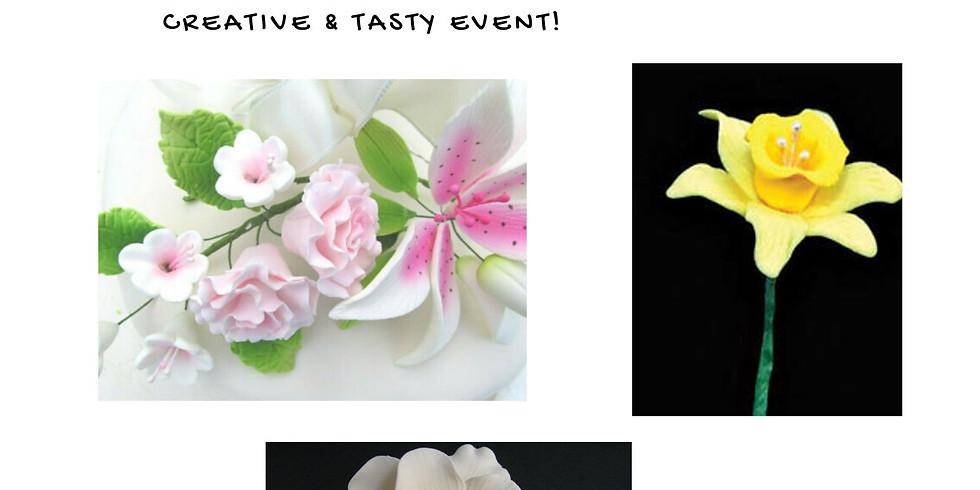 Decorative Gum Paste Flower Class with Courtney Morgan