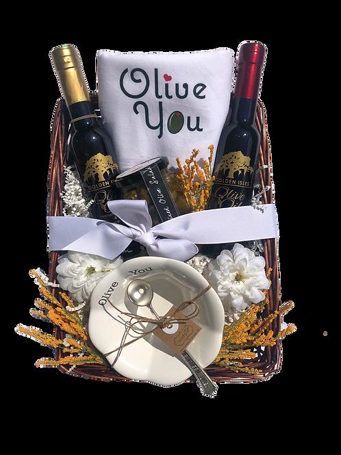 Olive You Basket