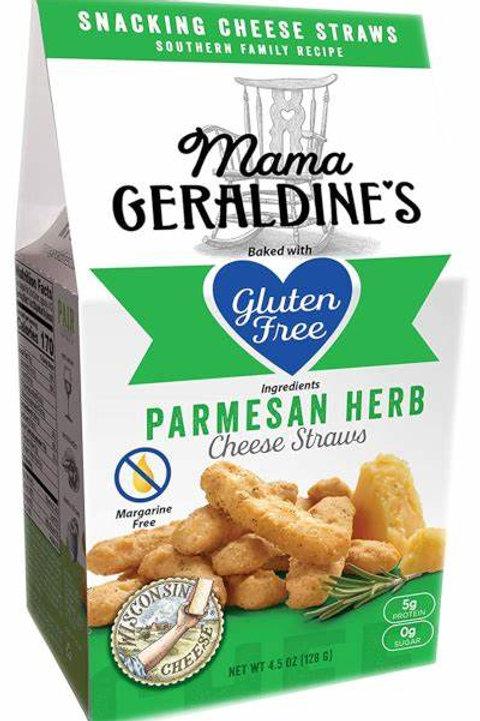 Mama Geraldine's Parmesan Herb Cheese Straws