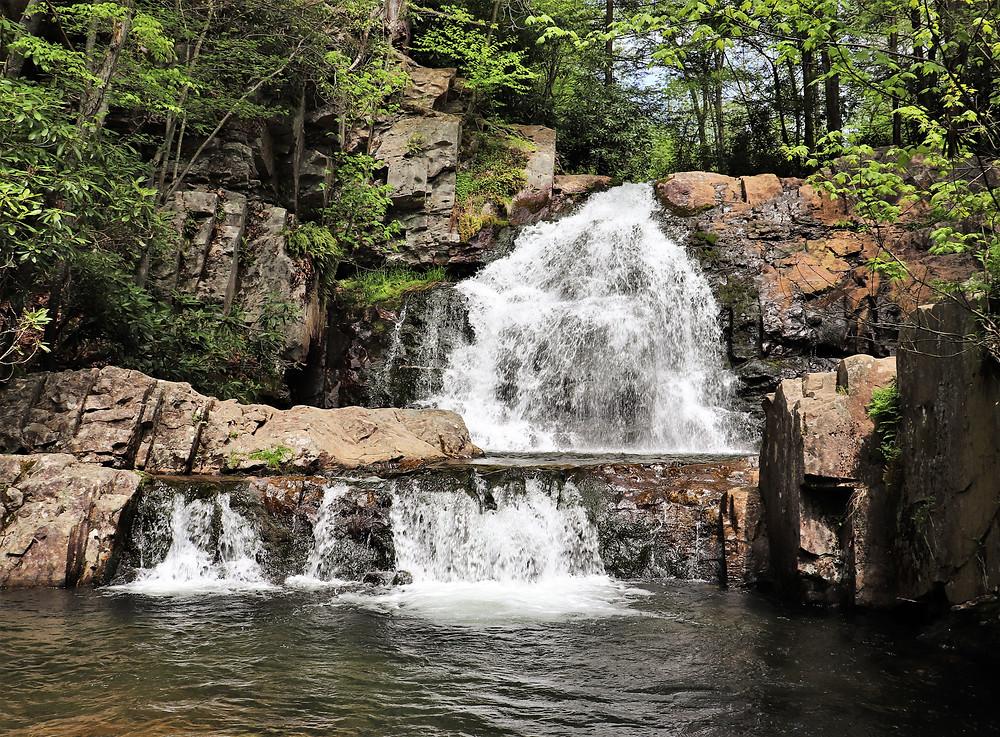 Hawk Falls, Hickory Run State Park