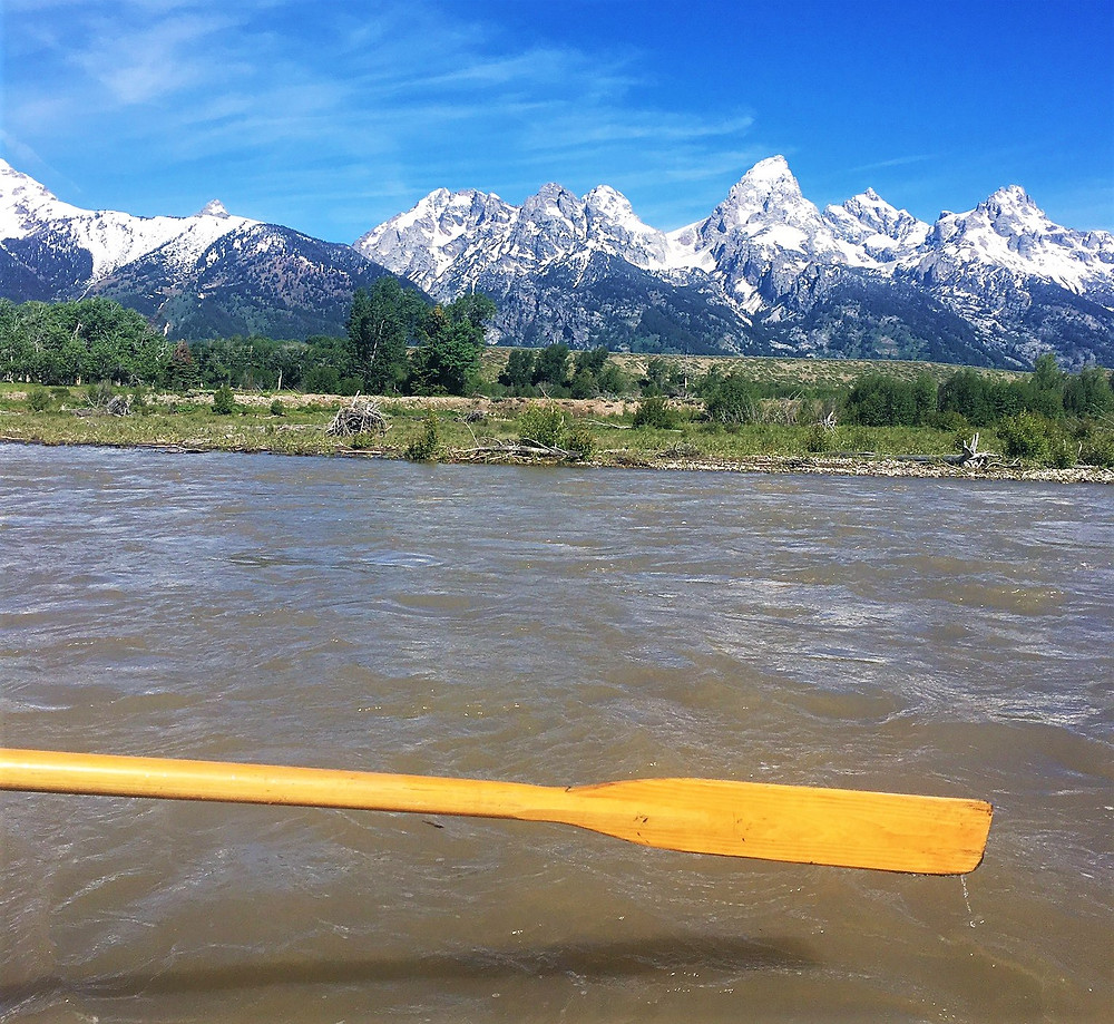 Grand Tetons, Snake River, Jackson Hole