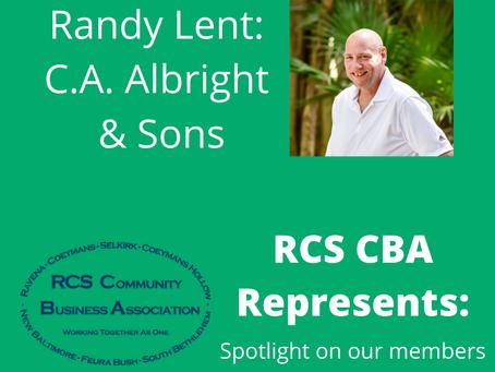RCS CBA Represents: CA Albright & Sons