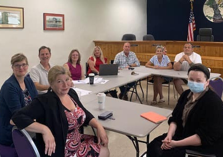 RCS CBA meets with Village officials