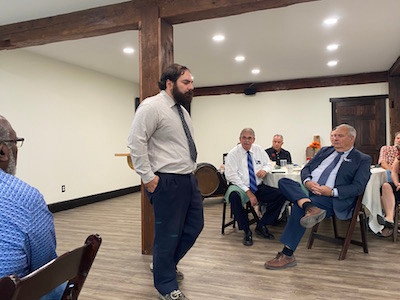 Unity key to community development says former mayor