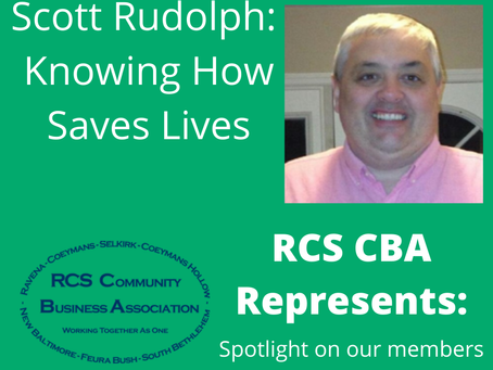 RCS CBA Represents: Knowing How Saves Lives