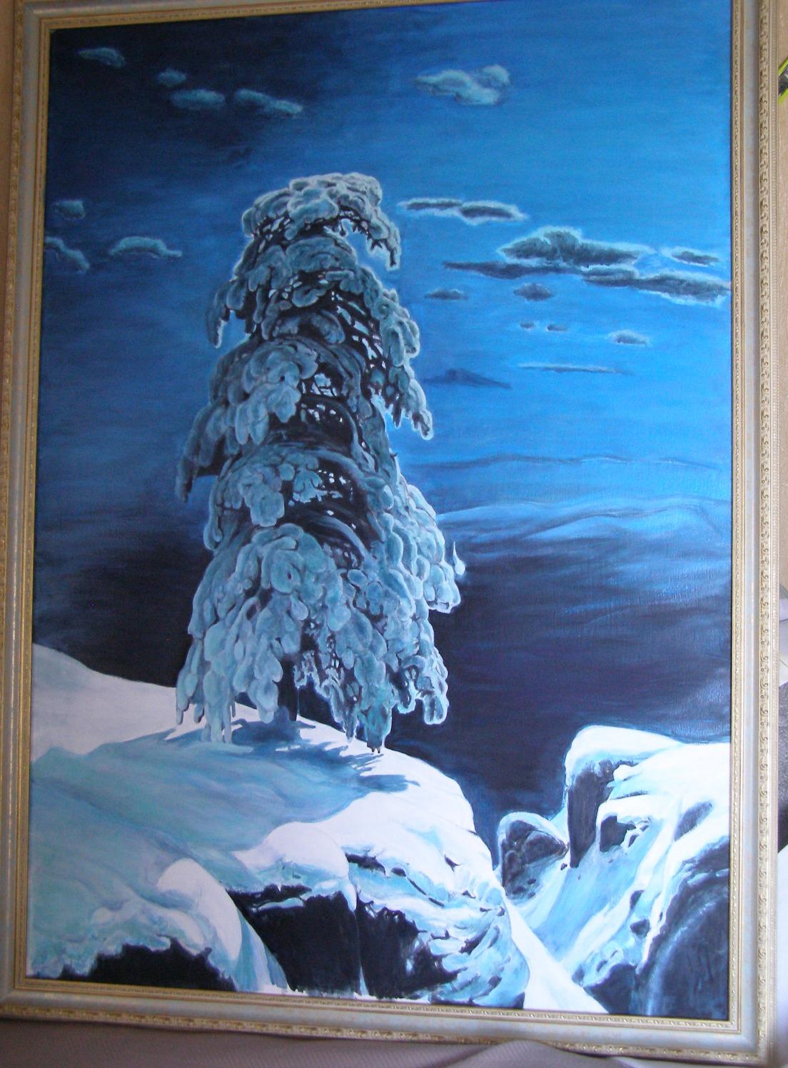Картинки шишкин на севере диком