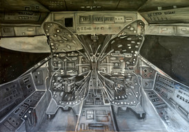 Butterfly spaceship