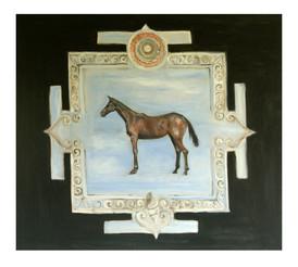 Horse mandala