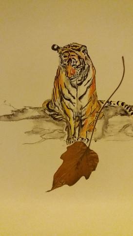 Leaf tiger