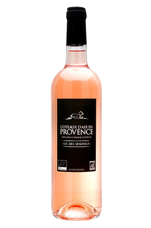 Roc des Segnuers, ORGANIC Provence Rose. France