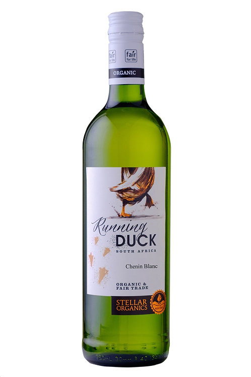 Running Duck, Fairtrade ORGANIC Chenin Blanc. South Africa