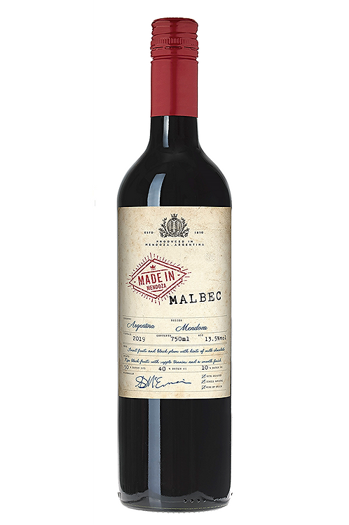 Made in Mendoza, Malbec. Argentina