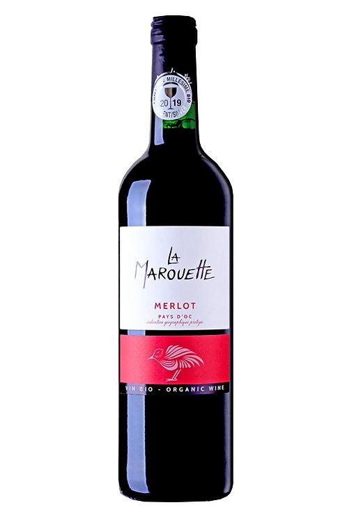 La Marouette, ORGANIC Merlot. France