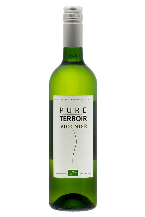 Pure Terroir, ORGANIC Viognier. France