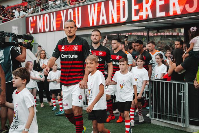 Ronald Mcdonald House x Western Sydney Wanderers