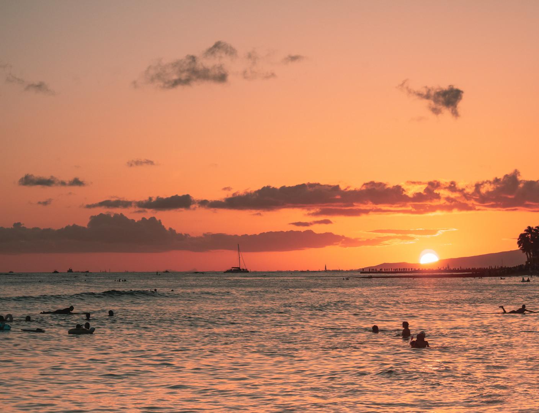 Waikiki Sunsets