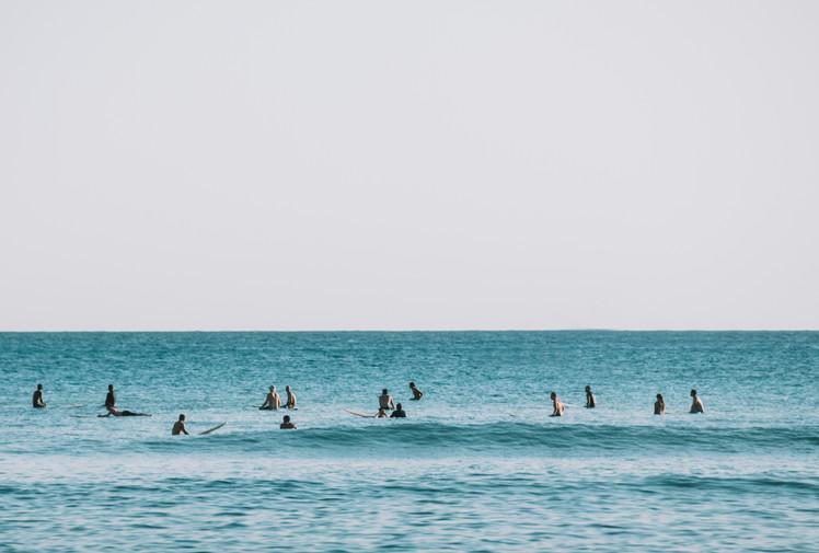 Waikiki Beach - Lineup