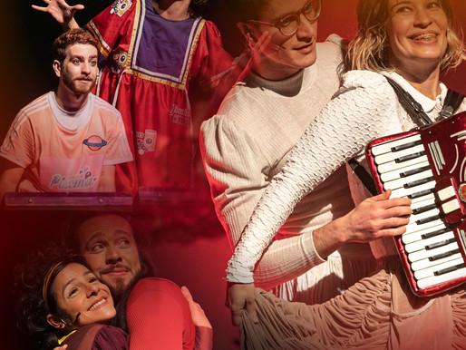 TRILOGIA DO AMOR - adultos e crianças poderão, de suas casas, assistir a três espetáculos musicais