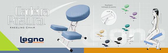 Cadeira Postural - Kneeling Chair | Legno | Circuito Geral